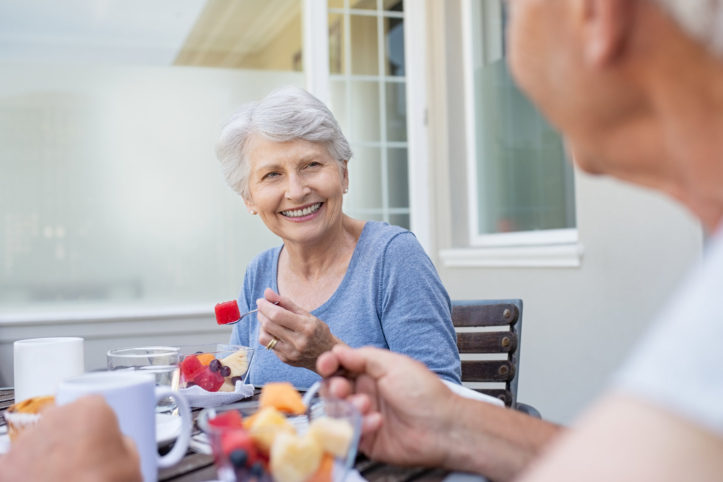 The Importance of Eating Right at an Advanced Age